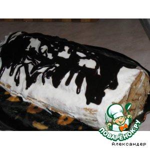 """Рецепт: Торт """"Медовое полено"""""""