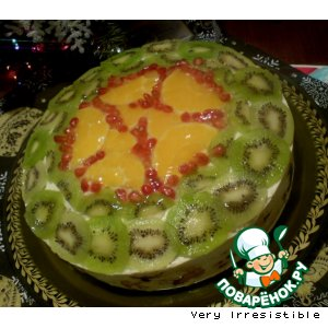 Торт Зимний сад