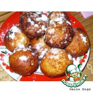 Рецепт: Пончики в пудре