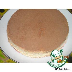 Рецепт: Вафельный торт Дай ещe кусочек