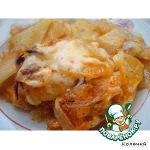 Рецепт: Картошечка к ужину