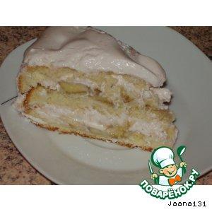 Рецепт: Творожный тортик