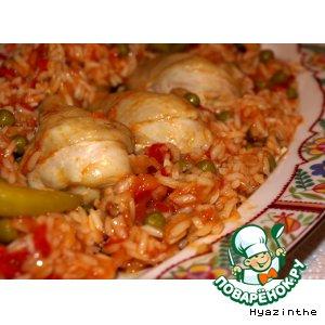 Рецепт: Курица с рисом по-кубински