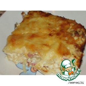 Рецепт: Супер-сырная запеканка