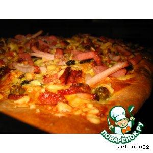 "Рецепт: Пицца ""Пииицццаааа!"""