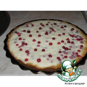 Рецепт: Пирог с клюквой