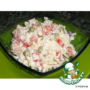 Рецепт: Салат Сытный