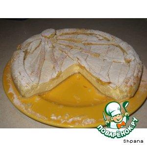 Рецепт: Пирог с творогом по-итальянски