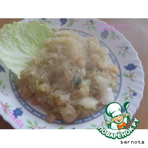 Рецепт: Стеклянная лапша с креветками