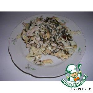 Рецепт: Салат из морской капусты