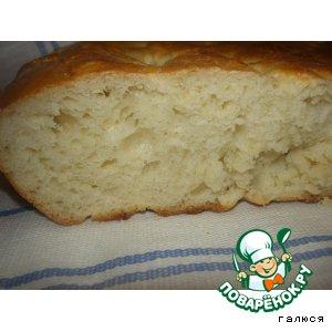 Рецепт: Домашний хлеб Обрусевший чурек