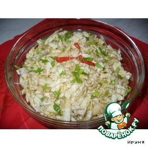 Рецепт: Салат из китайской капусты