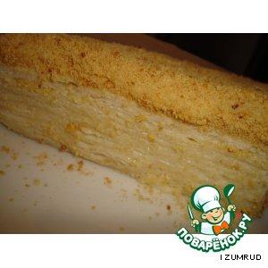 """Рецепт: Торт """"Наполеон"""" на пиве"""