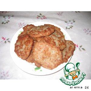 Рецепт: Драники с мясом
