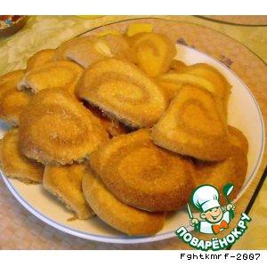 Рецепт: Печенье Улитка