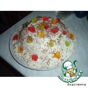 Рецепт: Торт Битое стекло