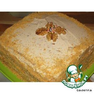 Рецепт: Торт «Для Папы»