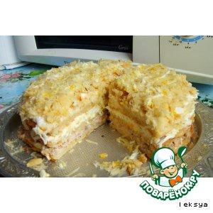 Рецепт Торт-салат рыбный