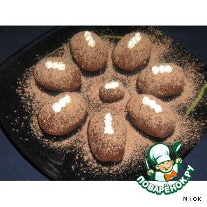 Рецепт: Пирожное Картошка