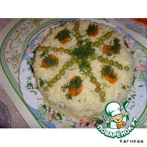Рецепт: Салат Влюбленная жена