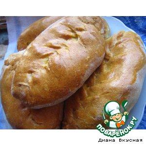 Рецепт: Пирожки с картофелем обычные
