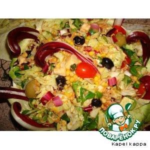 Рецепт: Греческий салат по-итальянски