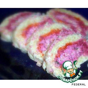 Рецепт: Закусочные крабовые рулеты