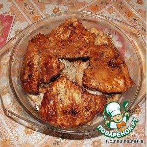Рецепт: Отбивные куриные