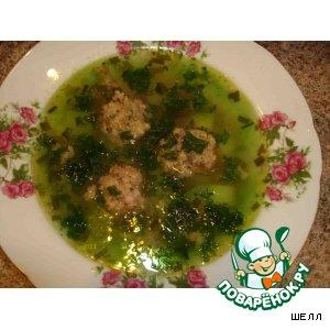 Рецепт: Зеленый супчик