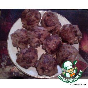 Рецепт: Бедрышко грибное