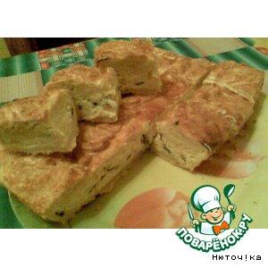 Рецепт: Пирог Луковичный