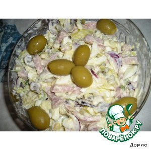 Рецепт: Салат Федот, да не тот
