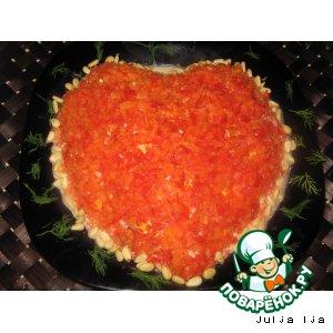 Рецепт: Салат Сердце