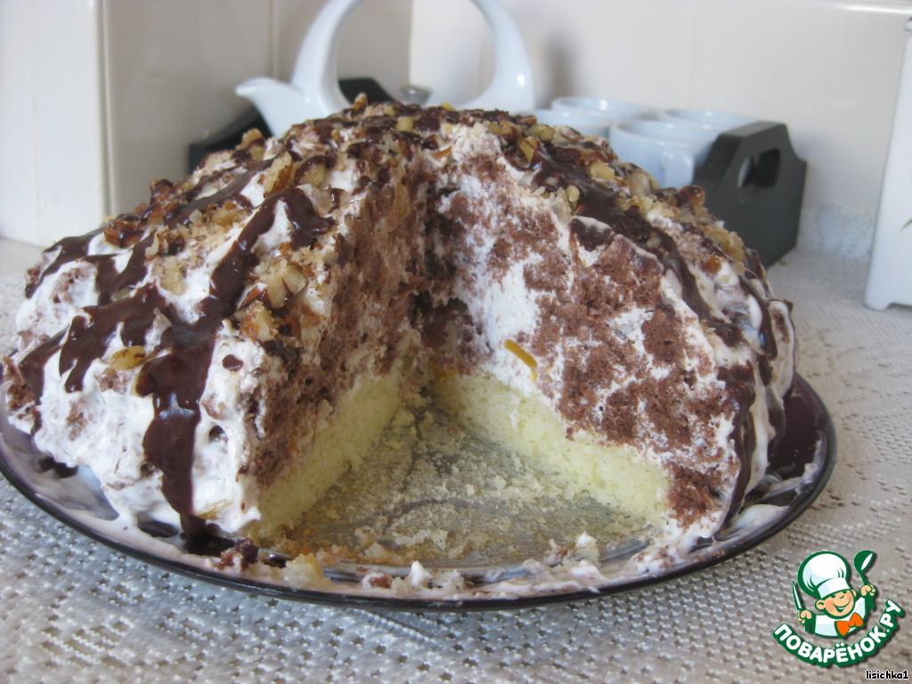 торт кудрявый рецепт