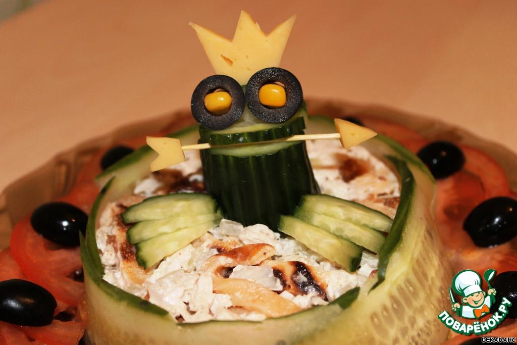 Рецепт салата царевна лягушка с брокали