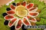 Горбуша малосольная с кальмарами – кулинарный рецепт