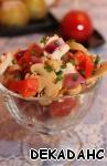 """Салат с нутом """"Зелёненький"""" – кулинарный рецепт"""