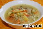 Сырный суп с рисовой лапшой – кулинарный рецепт