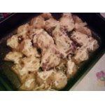 Пряный картофель с курицей