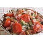 Салат с орехами Весенний