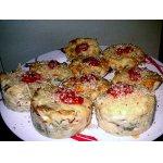 Баклажановые кексы