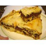 Пирог творожный в лаваше