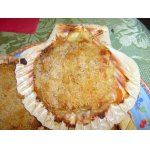Закуска из морских гребешков Рыбные ракушки