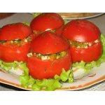 Помидоры, фаршированные овощной смесью