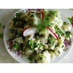 Салат из цветной капусты с острым соусом