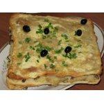 Торт Наполеон с картофельной и грибной начинкой