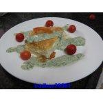 Пирог из теста фило с сыром