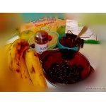 Кекс с бананами и черносливом