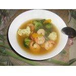 Диетический суп на морепродуктах