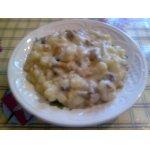 Картофель с грибами по-деревенски